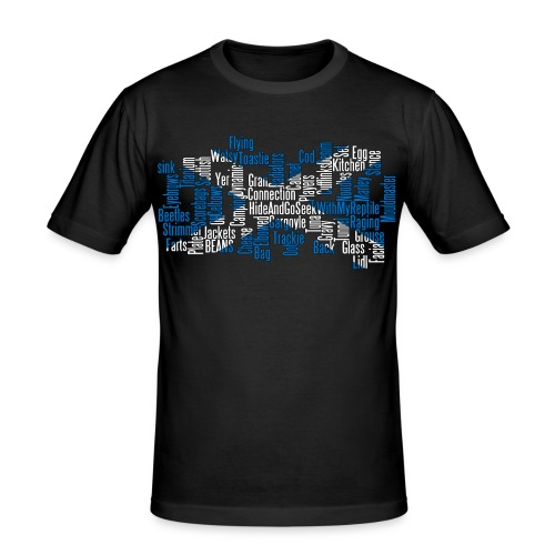Scottish Cod Players Collage (Mens) - Men's Slim Fit T-Shirt