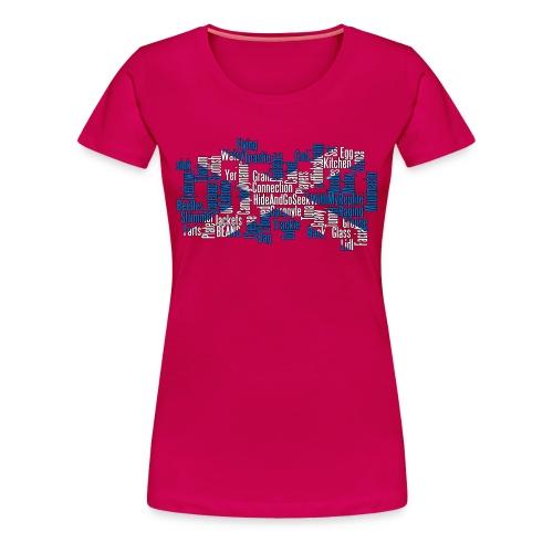 Scottish Cod Players Collage (Womens) - Women's Premium T-Shirt