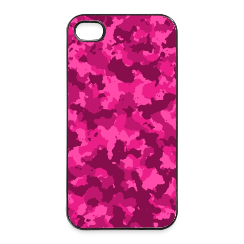 Pink Camouflage Handyhülle - iPhone 4/4s Hard Case