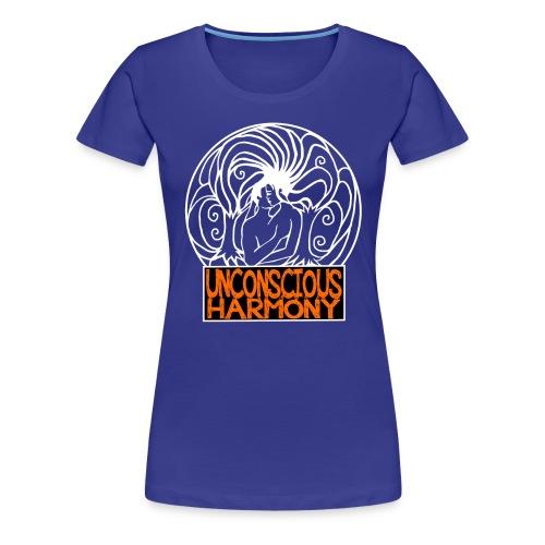 T shirt premium femme logo unconscious  - T-shirt Premium Femme