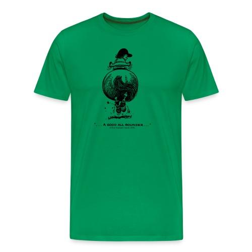 Männer Premium T-Shirt - Lustiger Thelwell Cartoon aus der offiziellen Kollektion 'The Thelwell Estate 2015'