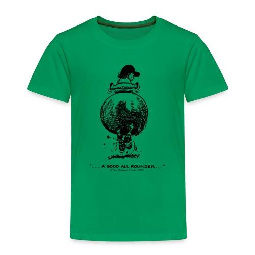 Kinder Premium T-Shirt - Lustiger Thelwell Cartoon aus der offiziellen Kollektion 'The Thelwell Estate 2015'