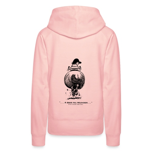 Frauen Premium Hoodie - Lustiger Thelwell Cartoon aus der offiziellen Kollektion 'The Thelwell Estate 2015'