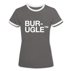 Burugle™ - Kontrast-T-skjorte for kvinner