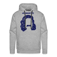 Sweat-shirts ~ Sweat-shirt à capuche Premium pour hommes ~ Sweat Capuche - Stache