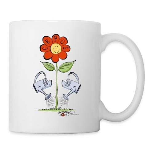 CEPOS-blomst - Kop/krus