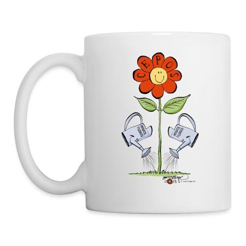 CEPOS-blomsten - Kop/krus