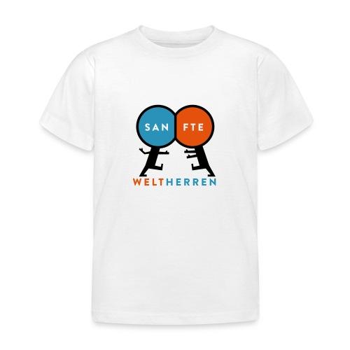 Sanfte Weltherren - Kinder T-Shirt