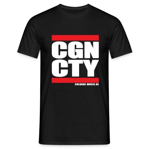 CGN CTY T-Shirt (schwarz) - Männer T-Shirt