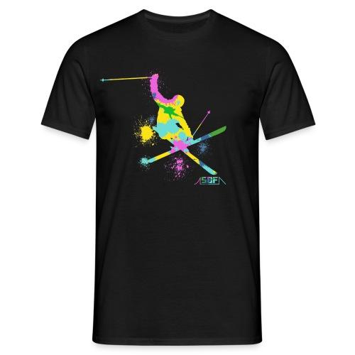 Festif ski  - T-shirt Homme