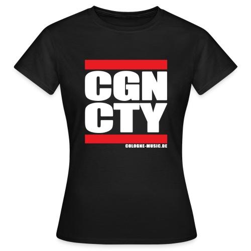 CGN CTY Damen T-Shirt - Frauen T-Shirt