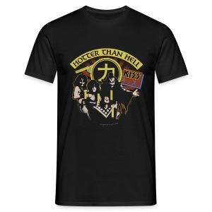 Kiss Hotter Than Hell  - Men's T-Shirt