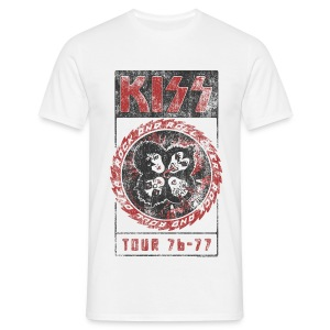 Kiss Rock 'n' Stars  - Men's T-Shirt