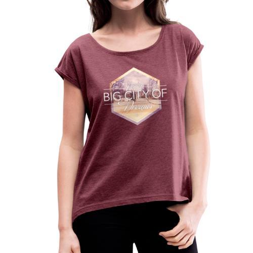 Poitiers, big city of dreams Soph' - T-shirt à manches retroussées Femme