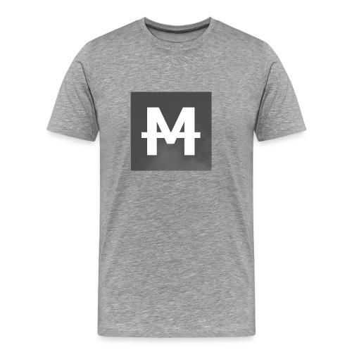 Monday - T-Shirt || M Logo - Männer Premium T-Shirt