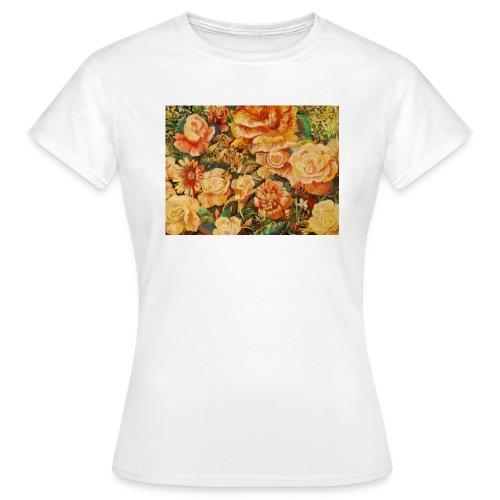 Roses - Dame-T-shirt
