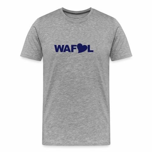 WAFLL - OWN TEXT - Men's Premium T-Shirt