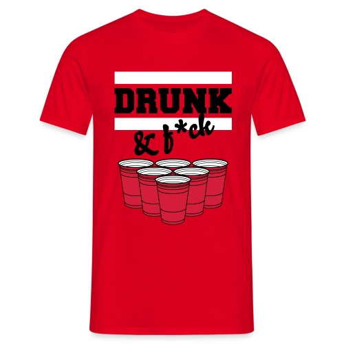 drunk top - T-shirt Homme