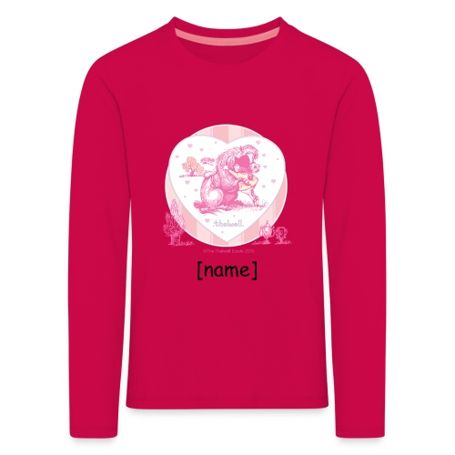 Kids' Premium Longsleeve Shirt - Funny Thelwell Cartoon from the official collection 'The Thelwell Estate 2015'