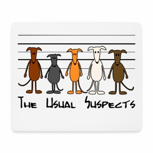 The usual suspects - Mousepad (Querformat)