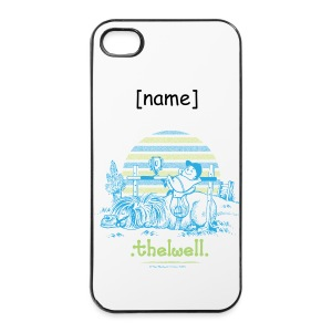 iPhone 4/4s Hard Case - Lustiger Thelwell Cartoon aus der offiziellen Kollektion 'The Thelwell Estate 2015'