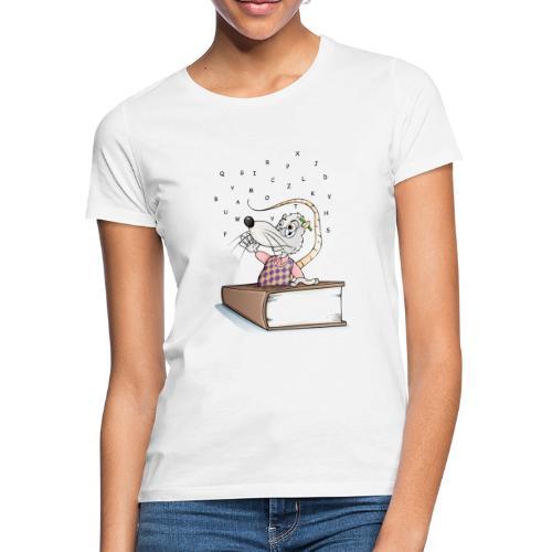 Leseratte - Frauen T-Shirt - Frauen T-Shirt