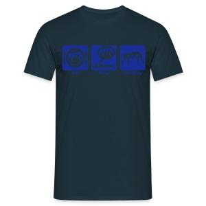 EAT. SLEEP. WRESTLE. T-Shirt. - Men's T-Shirt