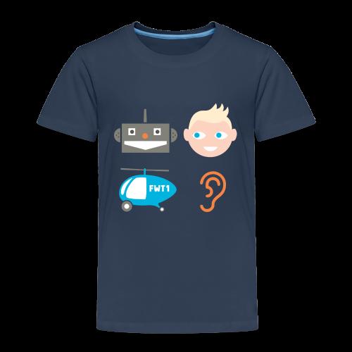 Robbi, Tobbi und das Fliwatüüt (Kindershirt) - Kinder Premium T-Shirt