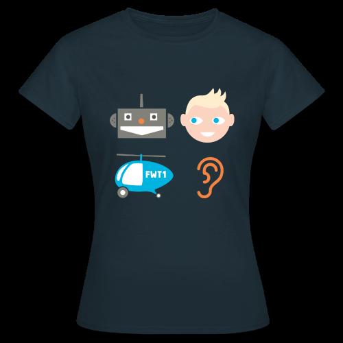 Robbi, Tobbi und das Fliewatüüt (Damen) - Frauen T-Shirt