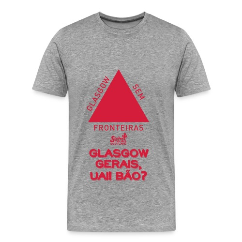 Glasgow Gerais - Men's Premium T-Shirt