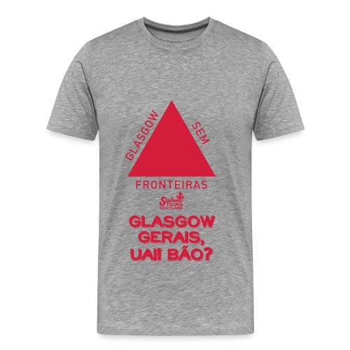 Glasgow Gerais - Men's Premium T-Shirt