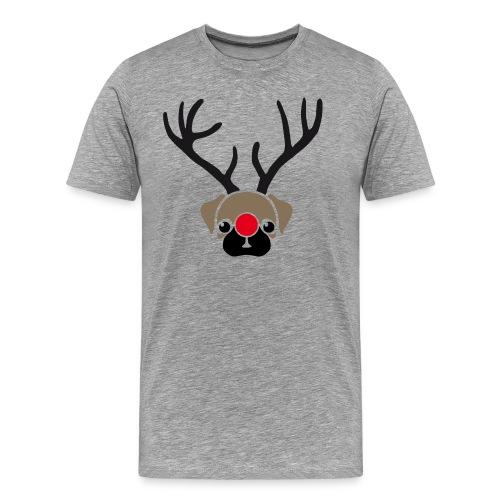 Rentier war aus - Männer Premium T-Shirt
