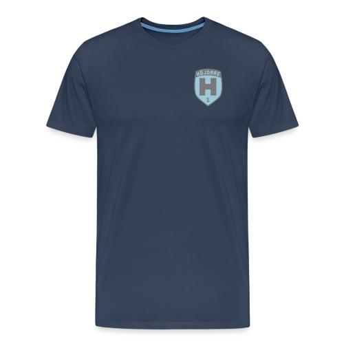 T-shirt 1 totalseger bl - Premium-T-shirt herr