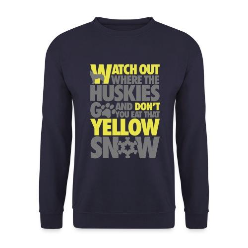 SnowStorm Huskies sweater - Men's Sweatshirt