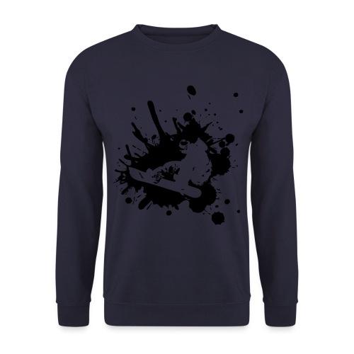 SnowStorm Snowboard Print sweater - Men's Sweatshirt