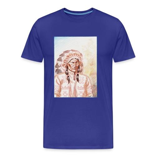 Chef indien Sioux. - T-shirt Premium Homme