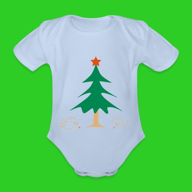 Baby Body rot Weihnachten