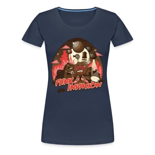 Funk invasion - T-shirt Premium Femme