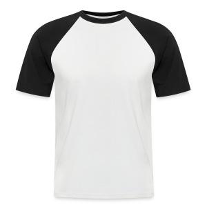 Mannen -shirt met verschillende kleuren mouwen - Mannen baseballshirt korte mouw
