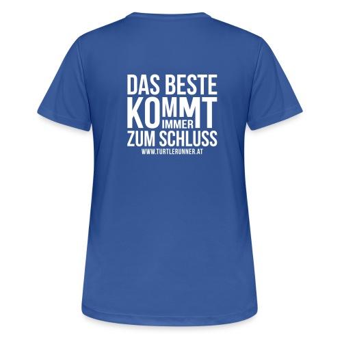 Motto-Laufshirt Women - Frauen T-Shirt atmungsaktiv