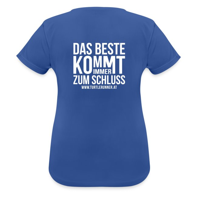 Motto-Laufshirt Women