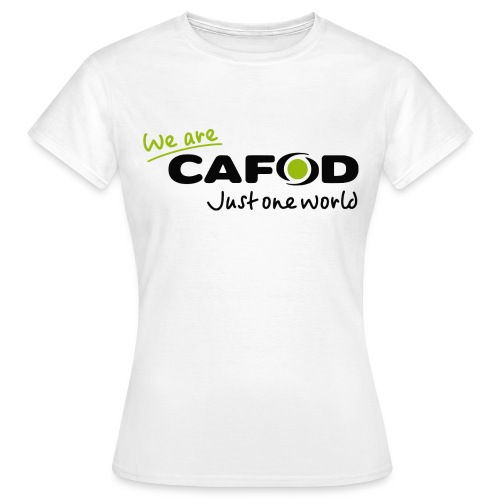 We are CAFOD T-shirt  - Women's T-Shirt