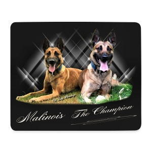 Mouspad Malinois - Mousepad (Querformat)
