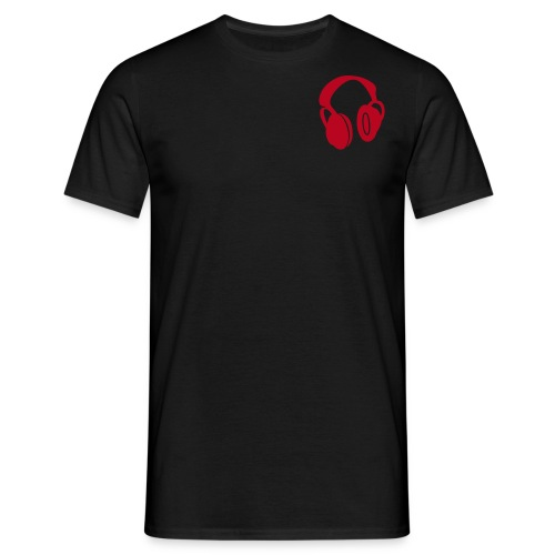 Headbang - Black/Red - Männer T-Shirt