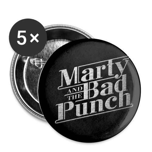 Marty Logo - Button 25mm - Buttons small 1''/25 mm (5-pack)