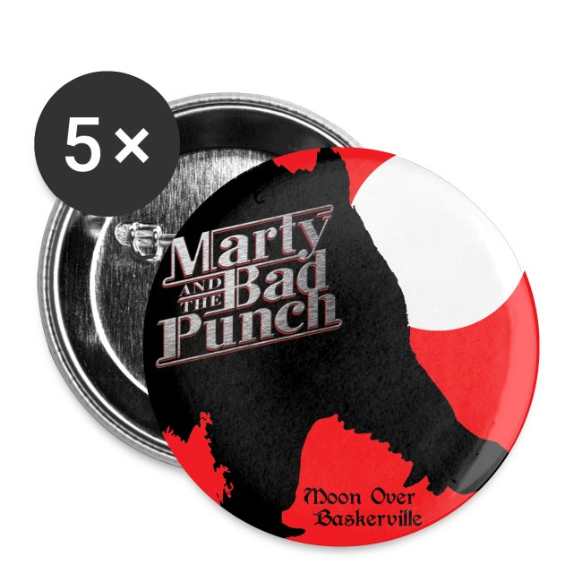 Marty Album Cover - Button 25mm