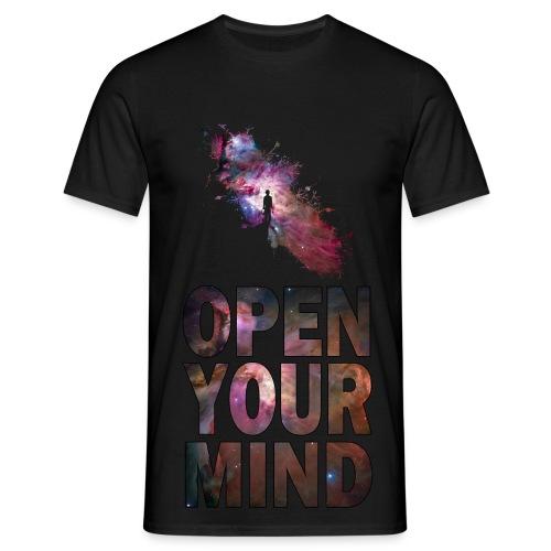 Open Your Mind  - Men's T-Shirt