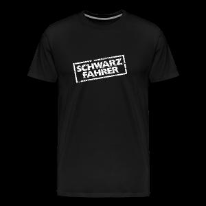 Schwarzfahrer T-Shirt (Schwarz Weiß) - Männer Premium T-Shirt