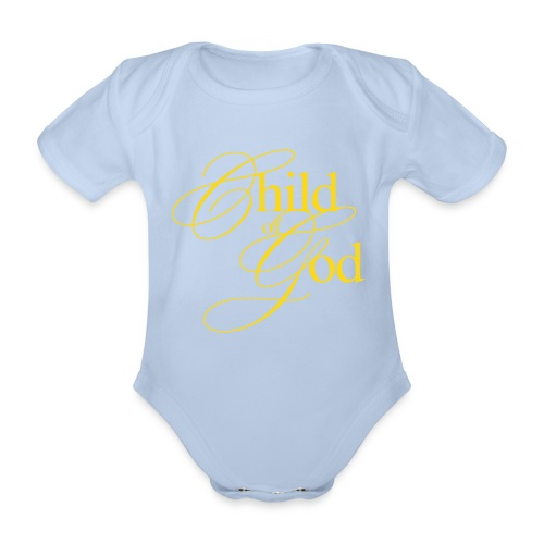 Body bebé Child of God - Body orgánico de maga corta para bebé