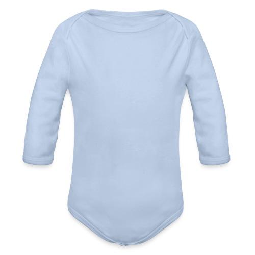 Baby Langarm Body Lila - Baby Bio-Langarm-Body